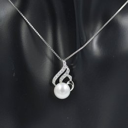 Flame Chain Australia - 2019 Sterling silver flame design pendant necklace for women Valentine's Day gift with natural freshwater pearls