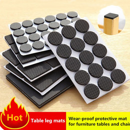 Mat Legging Australia - New Furniture, tables and chairs cover, anti-wear protective mat, anti-wear stool, table leg mat Furniture Accessories 4921
