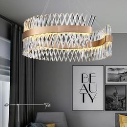 Luxury Kitchens Designs Australia - Luxury Modern Crystal Chandelier For Living Room Creative Design Home Decor Lighting Fixtures Suspension LED Lustres AC90-265V