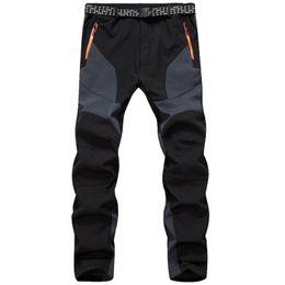 $enCountryForm.capitalKeyWord NZ - Winter Thermal Pants Men Thick Fleece Warm Waterproof Windproof Trousers Mens Inner Fleece Soft Shell Sportswear Outwear Pants