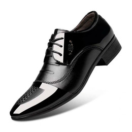 Leather Shoes Male Korean Black Trend Summer Breathable Flower Color Pointed Wild Leather British Mens Business Casual Latest Fashion Formal Shoes