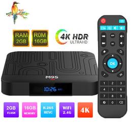 Media Player Australia - Amlogic S905W M9S W1 Android 7.1 TV Box Quad Core 2GB 16GB Smart Box WIFI 4K Media Player Better X96 TX3 H96 S905X2 T95Q S8 MAX S9 PRO