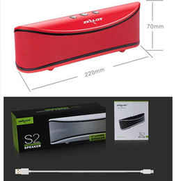 $enCountryForm.capitalKeyWord Australia - Wholesale- New Arrival Zealot S2 Portable Bluetooth Wireless Music Speaker TF card   USB Flash Drive FM radio Big Bass Stereo with Mic