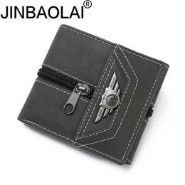 Rfid Print Australia - PU Leather Wallet Men PORTFOLIO MAN Male Small Portomonee Vallet With Coin Purse Pockets Slim Rfid Fashion Mini Walet #160112