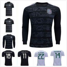 250007cafd1 10 pc free DHL Mexico 2019 2020 H.LOZANO H.HERRERA R.MARQUEZ CHICHARITO A.GUARDADO  Soccer Jersey 19 20 national team football shirt S-2XL