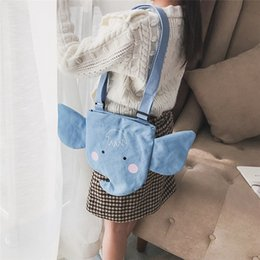 Wholesale New Elephant Style Girl Personality Cute Princess Korean Version Of children s Shoulder Messenger Bag Mini Bag