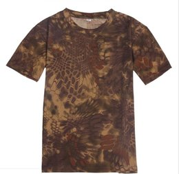$enCountryForm.capitalKeyWord UK - Round collar, quick drying, breathable camouflage T-shirt, loose mesh print, short sleeve military training, outdoor sports man
