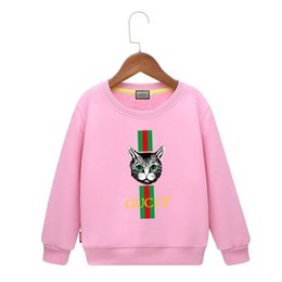 Cool Sweatshirt Jackets Canada - Cool Sweatshirts Children Sweater 2019 Children's Clothes New Pattern Spring And Autumn Paragraph Sleeve Head Girl Baby Jacket