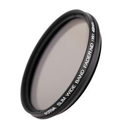 52mm Camera Filters Australia - Fotga 49mm 52mm Slim Fader Variable ND Filter Adjustable Neutral Density ND2 to ND400 for DSLR Camera Digital Camera Camcorder DV
