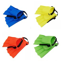 Frog tool online shopping - Multi Color Diving Fins Silicone Swimming Tools Short Fins Frog Shoes Children Good Quality Code Number Adjustable jmH1