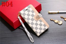 $enCountryForm.capitalKeyWord Australia - Cell Phone Case Leather Card Holder Famous Case for iPhone X XS XR Xs Max 7 7plus 8 8plus 6 6plus with box