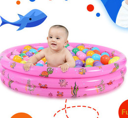 inflatable baby pool Australia - Summer Inflatable Baby Swimming Pool, Children Bathing Tub Baby Home Use Paddling Pool Inflatable Indoor&Outdoor Kids Inflatable Pool