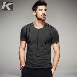 Black Striped T Shirt Men Australia - Summer Mens T Shirts Cotton Striped Print Gray Green Black Tops For Man Short Sleeve Casual T-shirt Male Tee Shirts 0129 J190430
