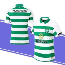 5f1573e4985 19 20 Thiland Home Soccer Jersey Short sleeve 19 20 Celtic Griffiths  dembele Sinclair Rogic McGregor Roberts Forrest Football shirt uni