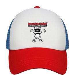 ca2c862eacc32 Kids Boys Girls Unisex Adjustable Baseball Cap Pearl Jam Rockabye Baby Mesh  UV Protection Caps Adjustable Mesh Hat