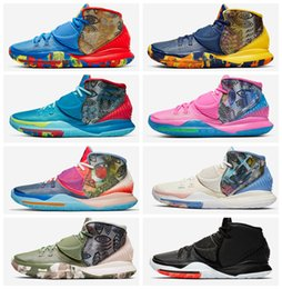 Nyc basketball online shopping - 2020 New Kyrie Pre Heat Tokyo NYC Miami Men mens Basketball Shoes s s Sponge Pineapple Sports Sneakers Chaussures US