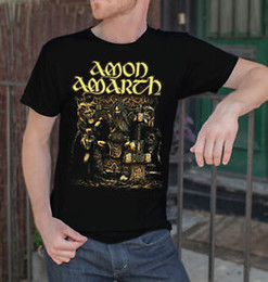 $enCountryForm.capitalKeyWord Australia - Amon Amarth Men BlaWholesale T-Shirt Death Metal Band Tee Shirt Vikings Swedish Metal