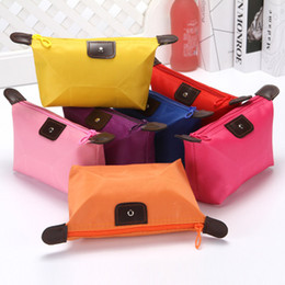 $enCountryForm.capitalKeyWord Australia - foldable makeup bag cute purse multifunction cosmetic bag customize logo Water Resistant in high quality in stock