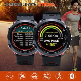 $enCountryForm.capitalKeyWord Australia - Smart GPS Running Sports Watch with color display and wrist-based heart rate outdoor 5ATM Waterproof EZON E2