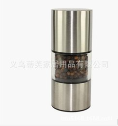 $enCountryForm.capitalKeyWord Australia - ZX-A104 Western Food Pepper Mills Stainless Steel Manual Rotation Pepper Grinder High Grade Salt Pepper Mills