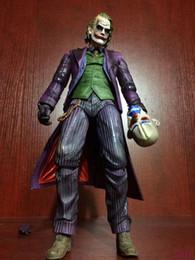 "$enCountryForm.capitalKeyWord Australia - PLAY ARTS KAI Batman The Dark Knight The Joker PVC Action Figure Colletible Model Toy 11"" 26cm"