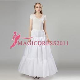 $enCountryForm.capitalKeyWord Australia - 2019 New Petticoats White Three Hoops Formal Dress Bridal Crinoline Wedding Accessories Lady Girls Stock Short Underskirt 12006