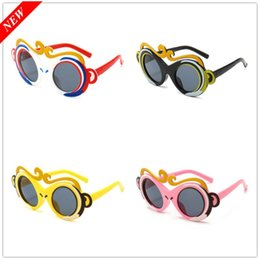 chinese wholesale sunglasses UK - New Cute Polarized Children Sunglasses Boy Girl Cartoon Chinese Traditional Culture Myth Sun Glasses Children Glasses