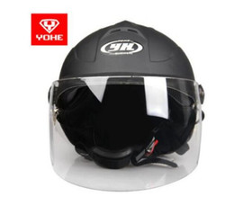 $enCountryForm.capitalKeyWord Australia - YOHE YH-331 motorcycle helmet men and women electric car summer bib riding half helmet 62