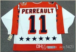 "gilbert perreault jersey Canada - Custom Men Youth women Vintage #11 GILBERT PERREAULT 1984 Wales ""All Star"" CCM Hockey Jersey Size S-5XL or custom any name or number"