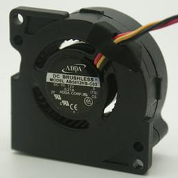 Fans Turbos Australia - Wholesale ADDA AB5012HB-C03 Server Blower Fan DC 12V 0.21A 50x50x20mm 5cm 50mm 3Wire 3Pin turbo blower cooling fan