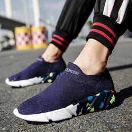$enCountryForm.capitalKeyWord Australia - Unisex Socks Sneakers Men Women Breathable Mesh Socks Running Shoes Soft Nonslip Cheap Couple Sport Shoes High Quality