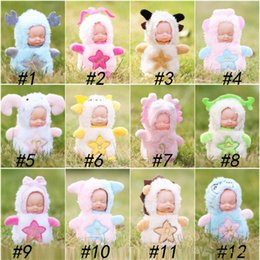 $enCountryForm.capitalKeyWord Australia - Sleeping baby keychain sleeping cute doll accessories factory funko pop wholesale cute surprise doll cartoon cute action figures kid toys
