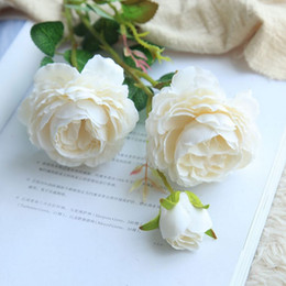 $enCountryForm.capitalKeyWord Australia - Elegant Beautiful Artificial Rose Simulation Silk Flowers Home Decoration Wedding Party Wall Artificial Flower Crafts
