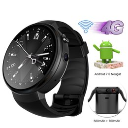 turkish gp NZ - LEM7 4G LTE Smart Watch Android 7.0 Smart Wristwatch With GPS WIFI OTA MTK6737 1GB RAM 16GB ROM Wearable Devices Watch For IOS Android Phone