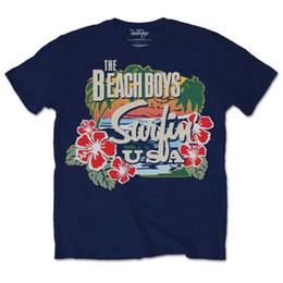 $enCountryForm.capitalKeyWord Australia - Beach Boys Surfin' USA Rock Brian Wilson Licensed Tee T-Shirt Men Cool Casual pride t shirt