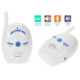 safe baby monitors 2020 - afety Sleeping Monitors Nanny 2.4GHz Wireless Infant Baby Audio Monitor Support 2-way Audio Voice Monitoring Crying Alar