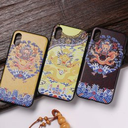 Cell Phones Cases Wholesale China Australia - China Palace Phone Cases 3D Relief For Iphone Xs Max Xr Acrylic TPU Cell Phone Case For Iphone 6 7 8 X Plus