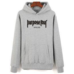 264543c5 2019 new Justin Bieber Hoodies Men women Harajuku Cotton Hip Hop Sweatshirt  Men women Justin Bieber Fashion Warm Clothes
