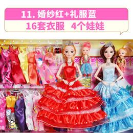 $enCountryForm.capitalKeyWord Australia - Miao Wa Barbibi American doll hot sale gift box little girl creative princess children toys free shipping