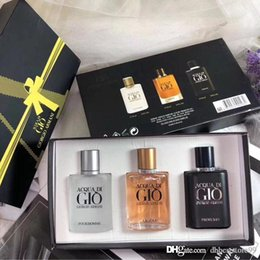 Spray Suit online shopping - Perfume for Men three piece Man Perfume Spray suit High Quality the same brand Long lasting fragrance and fast shipping