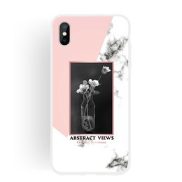 Iphone 5g Tpu Australia - NEW Marble Soft Cover For iPhone 5S 5G 5SE 6S 6G 7 8 Plus X 10 Xr Xs Max Case Skin TPU IMD Plastic Silicone Gel Rubber Phone Cover