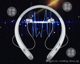 Hbs wireless bluetootH Headset online shopping - 2019 Popular Personal model HBS wireless Bluetooth headset neck mounted stereo sports running Bluetooth headset car