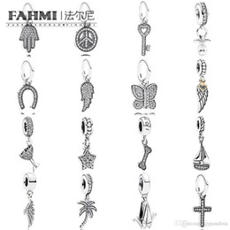 $enCountryForm.capitalKeyWord Australia - FAHMI 100% 925 Sterling Silver 1:1 Charm Hamsa Star Pavé Dangle Symbol of Faith Pendant Angel GUIDANCE ANGEL HANGING Butterfly NIGHT OUT
