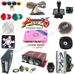 $enCountryForm.capitalKeyWord NZ - Pandora Box 6 DIY Arcade Bundles Kits Parts With Illuminated Joystick & Button Power Supply Jamma Harness Coin Selector