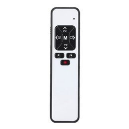 wireless presenter remotes Australia - Viboton Pp991 2.4Ghz Wireless Ppt Presentation Presenter Rf Remote Control Red Pointer Pen Clicker Page Turning Lecture Range 80