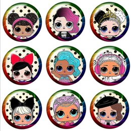 $enCountryForm.capitalKeyWord Australia - Fashion Lovely Doll Girls 20pcs 16mm20mm25mm Round photo glass cabochon demo flat back Making findings