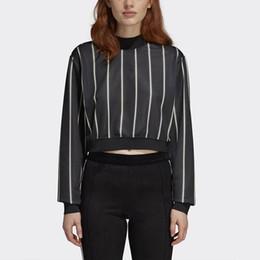 $enCountryForm.capitalKeyWord NZ - European and American fashion sweater women's baseball uniform short striped long-sleeved sexy nightclub shirt pullover blouse