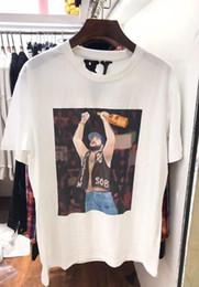 e56042f7 Vlone x A$AP Yams Day T-shirt Men Women ASAP ROCKY t shirt Harajuku tshirt  Hip hop Streetwear Brand Summer Cotton Clothing Tees Tops Clothes
