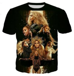 c85eb1cc Newest Novelty Streetwear Men Woman Summer Style Queen Beyonce Funny 3d  Print Casual O-neck T-Shirt Tops Plus Size RW0452