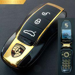 $enCountryForm.capitalKeyWord Australia - NEW Unlocked Small Flip Racing Car Key Fob Model Mobile Phone F15 Dual Sim Black